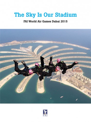 Bildband der FAI über die World Air Games in Dubai