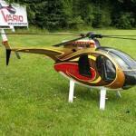 Werksbesuch bei Vario Helicopter in Gräfendorf