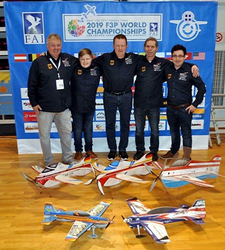 FAI WM F3P 2019 – Indoor Kunstflug auf der Insel der Götter