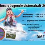 EINLADUNG zum Trainingscamp für die Regionale Jugendmeisterschaft 2019 des DMFV in Sachsen