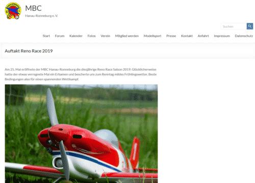Bericht des MBC Hanau-Ronneburg zum Saisonauftakt 2019