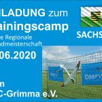 Trainingscamp für die regionale Jugendmeisterschaft Sachsen