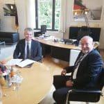 DMFV trifft Staatssekretär Bilger in Berlin
