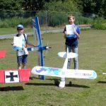 Modellfliegen junger Nachwuchspiloten im MFC Wunstorf e.V.